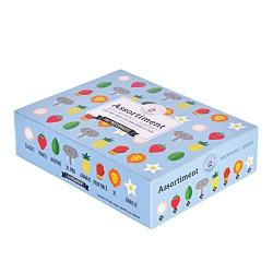 Preservatifs assortis en boîte